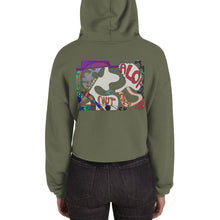 Load image into Gallery viewer, BYM Crop Hoodie in Aloha Coco