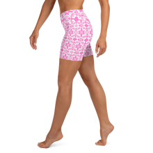 Load image into Gallery viewer, BYM Yoga Sport Shorts in Pretty in Pink