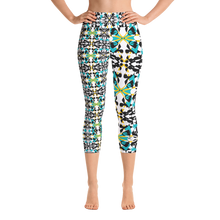 Load image into Gallery viewer, BYM Yoga Capri Leggings in Maui Mind and Body