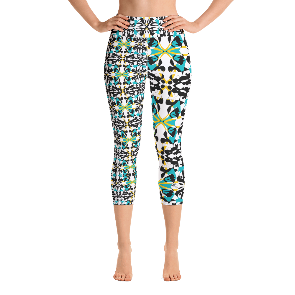 BYM Yoga Capri Leggings in Maui Mind and Body