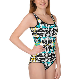 BYM Teen One Piece Bathingsuit in Maui Mind and Body