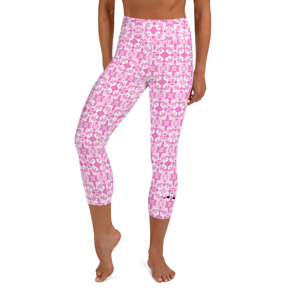 BYM  Leggings in Pretty in Pink -UPF 40