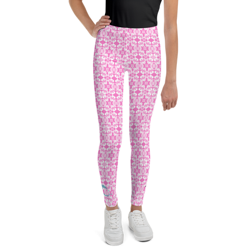 BYM Pretty in Pink Junior Leggings