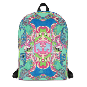 BYM Backpack - in Sweet Lane Turquoise