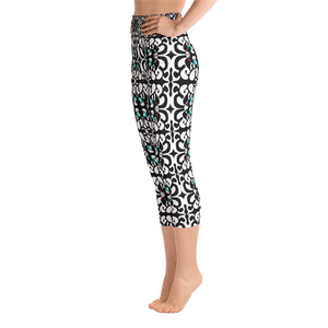BYM Yoga Capri Leggings in Mo'O
