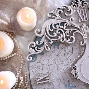 "Decorative Plaster for Relief Ornament ""White"" #05"