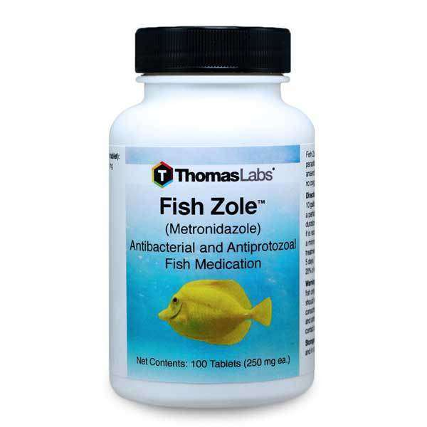 Fish Zole - Metronidazole 250 mg Tablets (100 Count)
