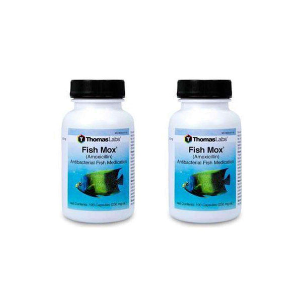 Fish Mox - Amoxicillin 250 mg Capsules (100 Count) - 2 Pack