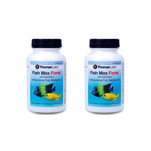 Fish Mox Forte - Amoxicillin 500 mg Capsules (100 Count) - 2 Pack (OUT OF STOCK)