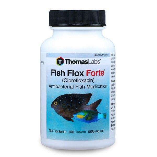 Fish Flox Forte - Ciprofloxacin 500 mg Tablets (100 Count)