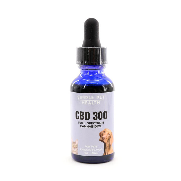 CBD 300 Tincture for Pets