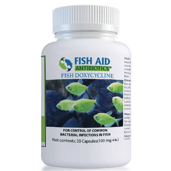 (Fish Doxy Equivalent) Fish Doxycycline 100 mg - 30 count