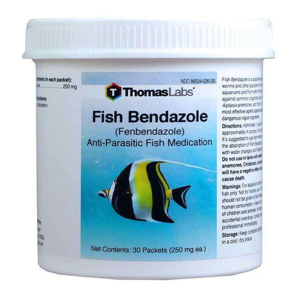 Fish Bendazole - Fenbendazole 250 mg Powder Packets (30 Count)
