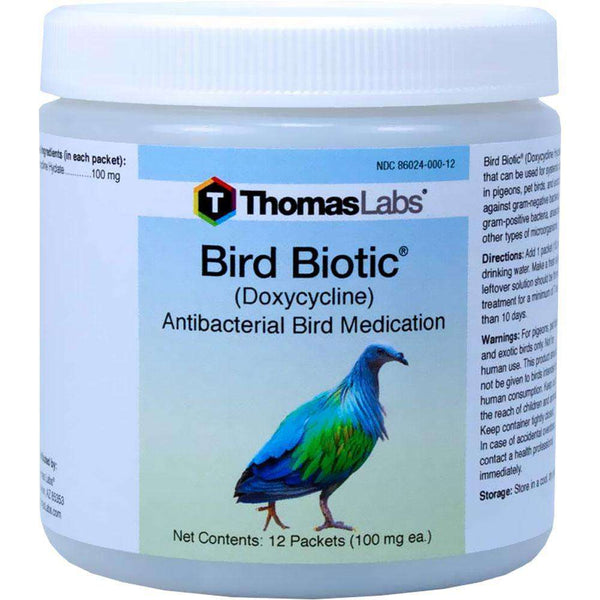 Bird Biotic - Doxycycline 100 mg Powder Packets (12 Count) (OUT OF STOCK)