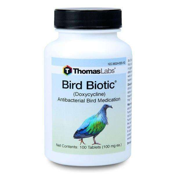 Bird Biotic - Doxycycline 100 mg Tablets (100 Count) (OUT OF STOCK)