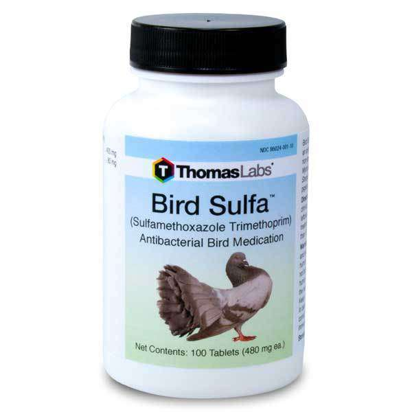Bird Sulfa - Sulfamethoxazole 400 mg Tablets (100 Count)