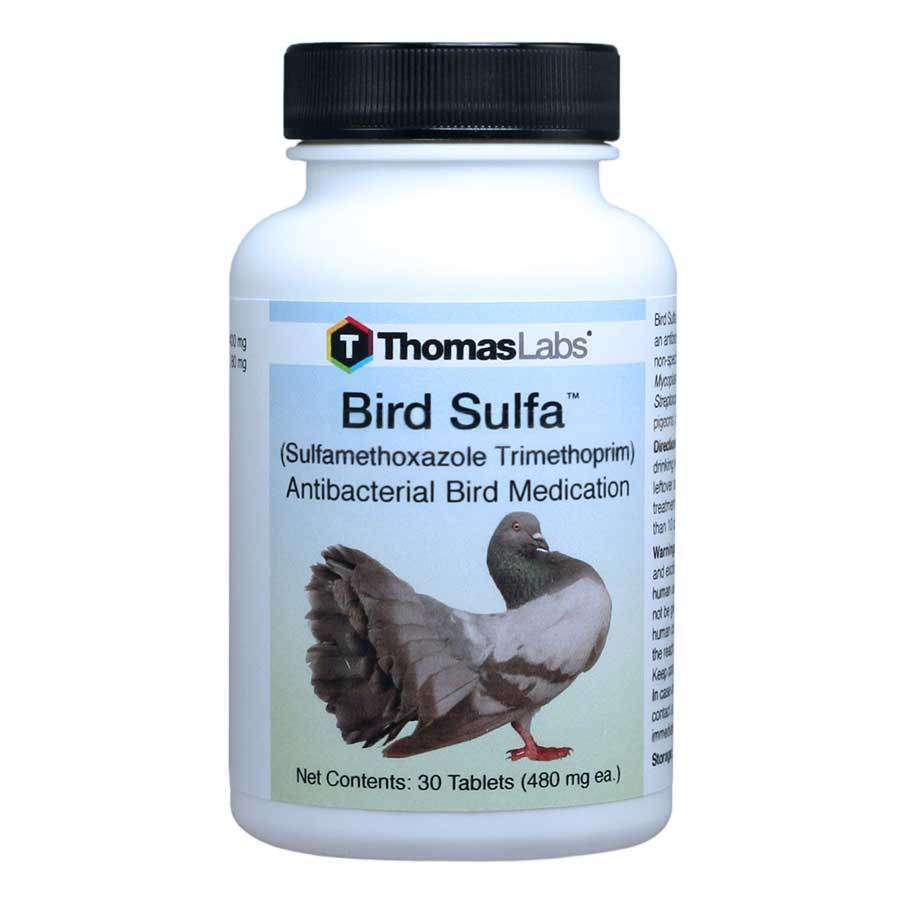 Bird Sulfa - Sulfamethoxazole 400 mg Tablets (30 Count)