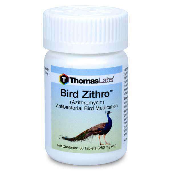 Bird Zithro - Azithromycin 250 mg Tablets (30 Count) (OUT OF STOCK)