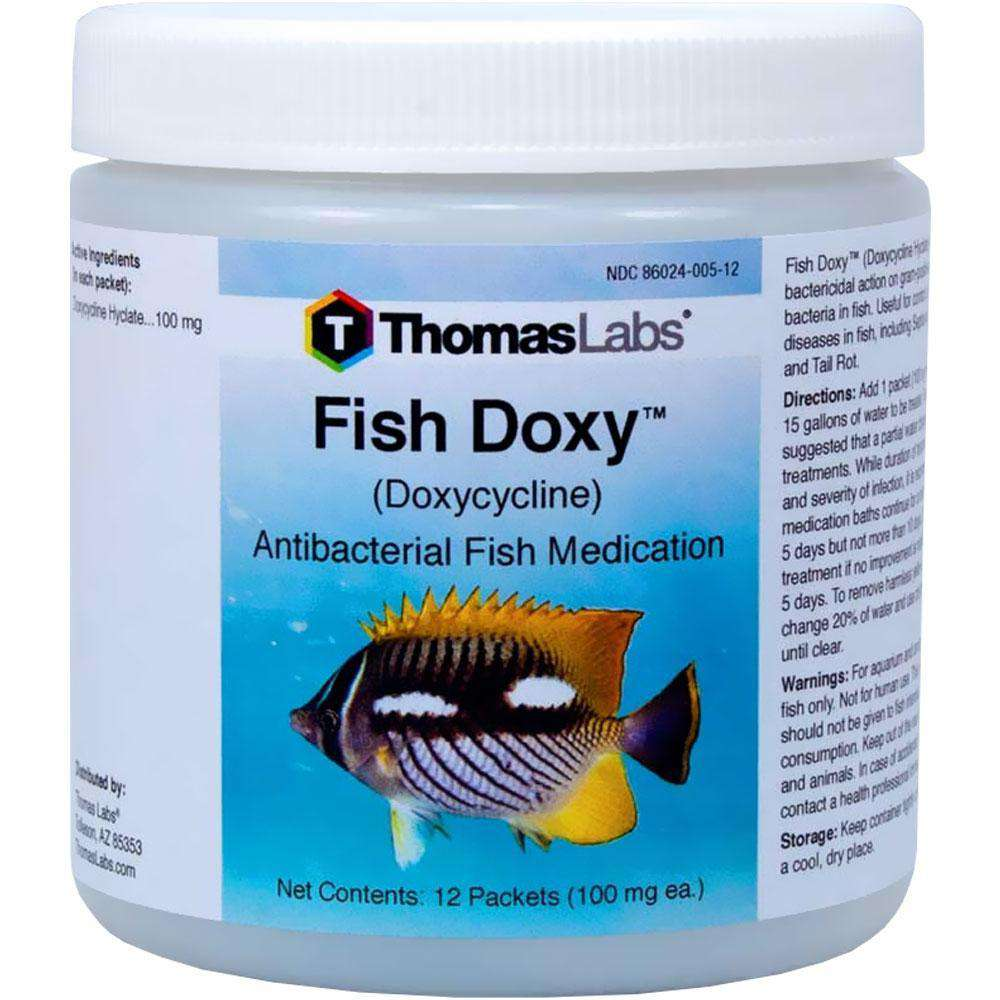 Fish Doxy - Doxycycline 100 mg Powder Packets (12 Count) (OUT OF STOCK)