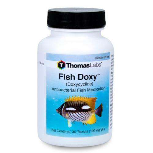 Fish Doxy - Doxycycline 100 mg Tablets (30 Count) (OUT OF STOCK)