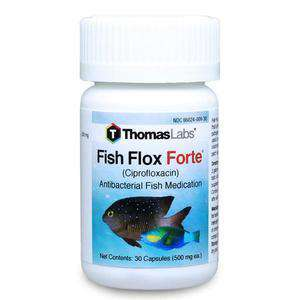 Fish Flox Forte - Ciprofloxacin 500 mg Tablets (30 Count)