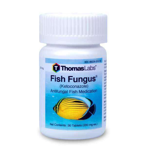 Fish Fungus - Ketoconazole 200 mg Tablets (30 Count)