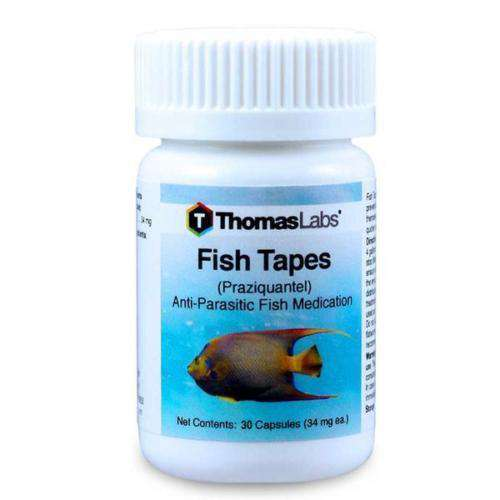 Fish Tapes - Praziquantel 34 mg Capsules (30 Count)
