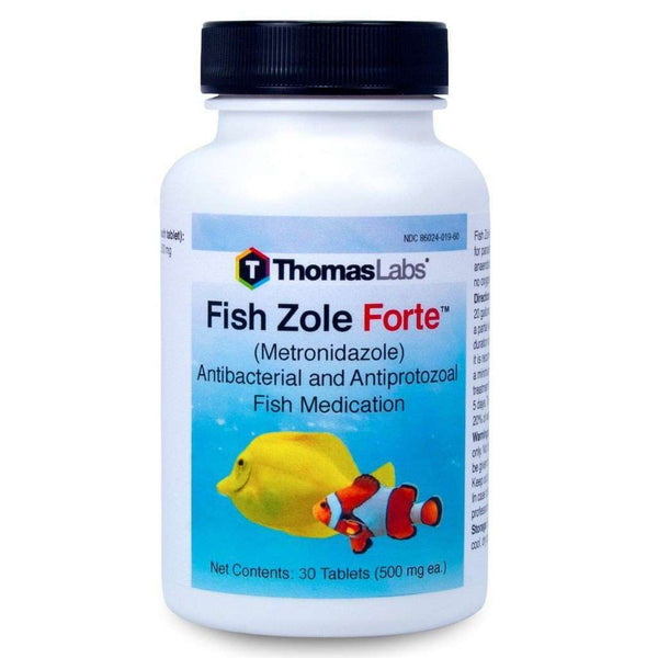 Fish Zole Forte - Metronidazole 500 mg Tablets (30 Count)