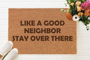 Product Of The Week: Social Distance Aiding Doormats