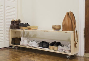 Foxy Narrow Shoe Storage