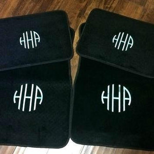 Beautiful Concept Monogrammed Floor Mats