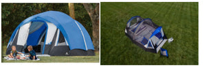 Ozark Trail 10-Person Freestanding Tunnel Tent with Multi-Position Fly $69.00! (Reg