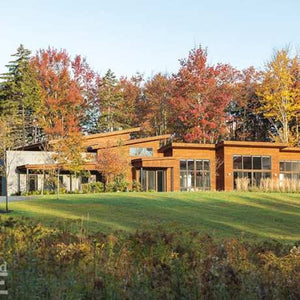Stowe, Vermont-based architect Brian Hamor smiles as he remembers his clients' wish list for their Stowe vacation home