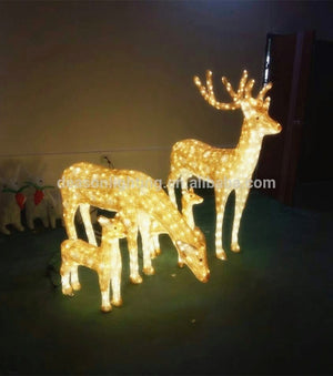 Luxury Christmas Reindeer Lights
