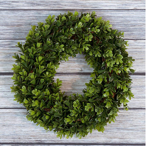 Pure Garden Boxwood Wreath Just $21.71 with clipped coupon!