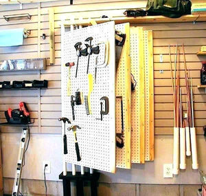 Beautiful Garage Pegboard Ideas