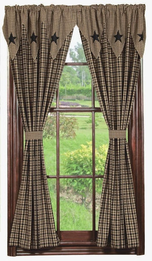 Engrossing Primitive Curtains For Living Room