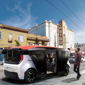 Autonomous vehicle startup Cruise has revealed its first self-driving, electric car designed for shared ownership, which has no steering wheel or pedals.