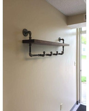 Appealing Coat Hanger Shelf