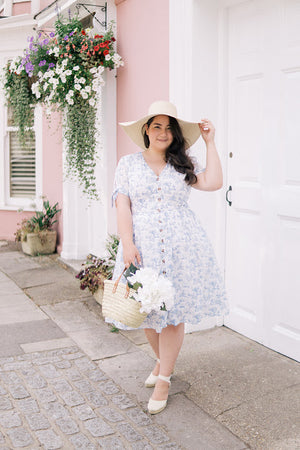 The Perfect Blue And White Toile For Your Summer Closet.