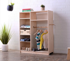 A Montessori Children's Wardrobe - Designed & Made in the USA