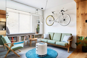 When a simple question about how to fit big house into small apartment comes to your mind, we have found the answer.  Jack Chen, an owner of a small apartment with big feeling