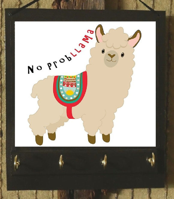 Funny Cartoon Alpaca Organizer