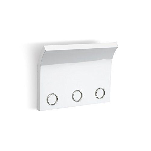 Umbra Magnetter – Magnetic Wall Mounted Key/Mail Entryway Organizer/Hanger, White