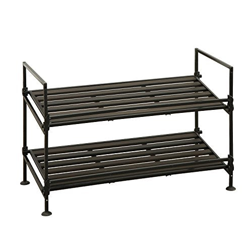Neu Home 97222W-1 Shoe Rack, Espresso