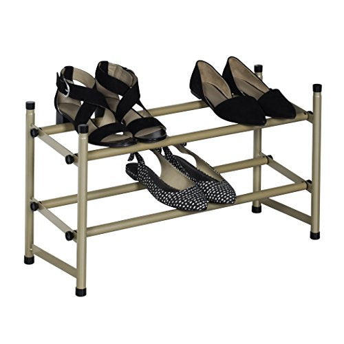 Richards Homewares Stackable Telescoping Shoe Rack