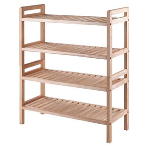 Winsome 81429 Mercury Shoe Rack, Natural
