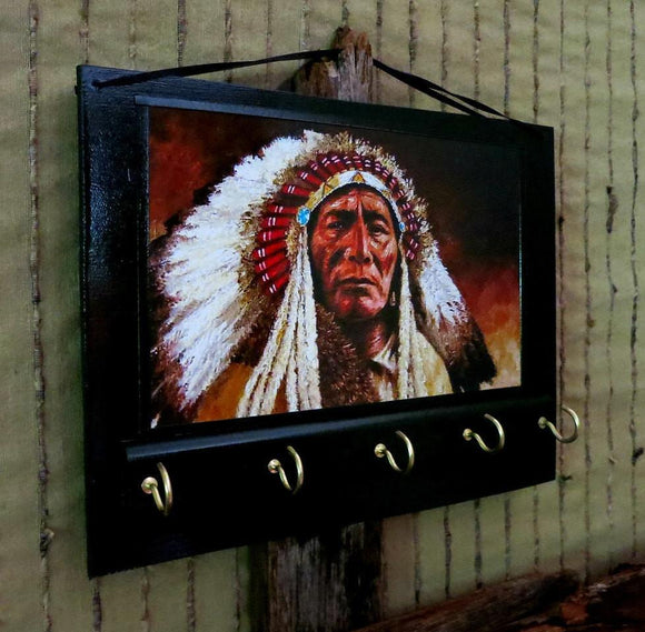 American Indian Entryway Organizer