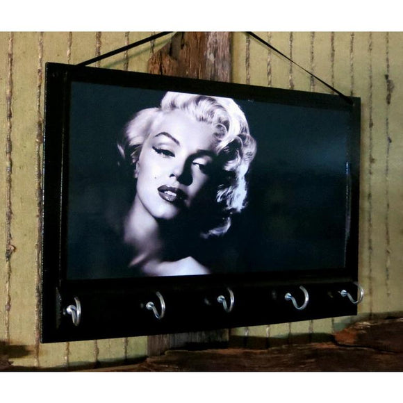 Entryway Organizer Marilyn Monroe Key Rack