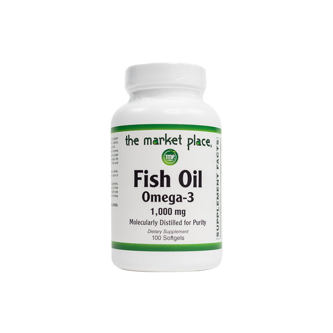 Fish Oil Omega-3 1000mg